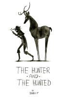 The Hunter And The Hunted - Cover by Inky-Shade