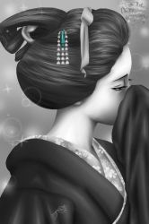 The Senju's Beautiful Geiko by YumeSamasLover