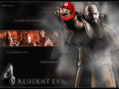 RESIDENT MARIO by poolke90