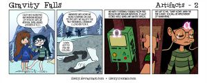 Gravity Falls: Artifacts 2 by illeity