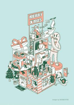 Merry Christmas by BIGMOUTH-design
