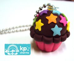 choco cupcake by KPcharms