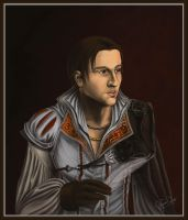 Portrait of a Nobleman by Haddrian
