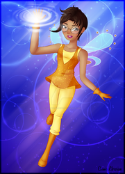 [Winx] Fairy of Science by CosmicLibrarian