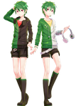 MMD Commission | Genshine Kyuu and Roku YoiStyle by adan-YoiStyle