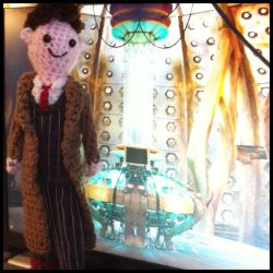 Doctor Who in Tardis by smapte