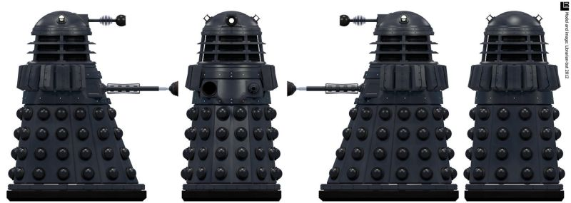 First Dalek by Librarian-bot