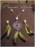 Pheasant Dream -jewelry pack by SaQe