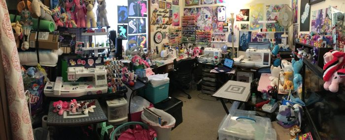 RubioWolf's Sewing Room as of 2/19/18 by RubioWolf