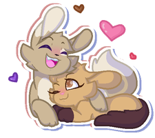 Mocha and Coffee Bean uvu by koka-kola-kat
