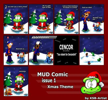 Mud Comic - Issue 1 by ksb-artist