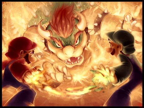 The Koopa King! -( Luigi Brothers ) by WalkingMelonsAAA