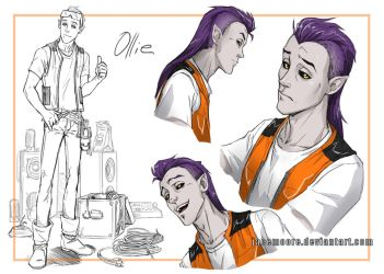 Ollie Sketches by jacemoore
