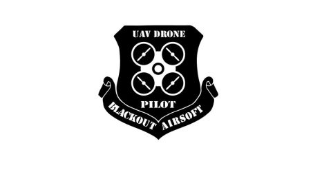 Blackout Airsoft drone patch by ford05