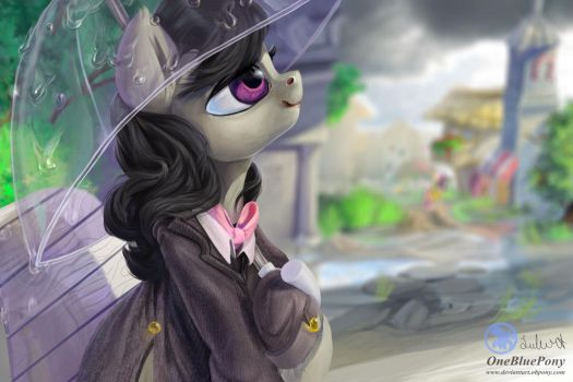 Octavia- Waiting for inspiration by LuleMT