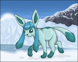 Glaceon by carrie-warwick