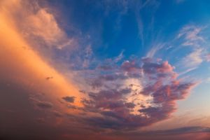 Vibrant Sunset Clouds II by somadjinn