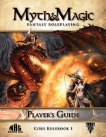 Myth and Magic Player's Guide Cover by JessicaSafron