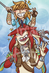 Link n Sidon by TheArcaneArts