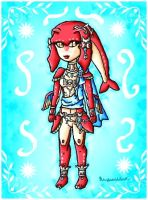Mipha by ninpeachlover