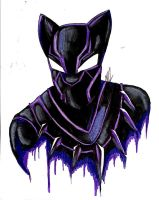 Black Panther by Artfrog75