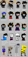 Homestuck according to my sister and her friend. by SailorEchoSong