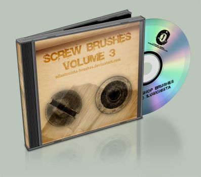 Screws Brushes Vol 3 by OIlusionista-brushes