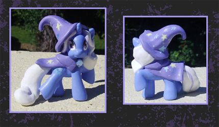 My Little Pony Custom - Trixie Blindbag by kaizerin