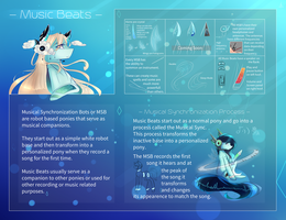 Music Beats Species Guide by BlazeIgnite