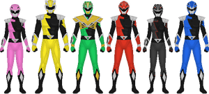 Power Rangers HyperForce by Taiko554