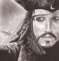 Captain Jack Sparrow by xDiamonx
