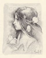 Small study after Waterhouse by SILENTJUSTICE