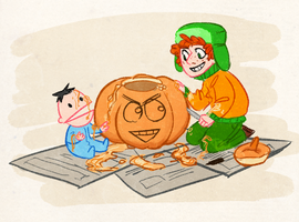 SP - Pumpkin Carving by Kayotics