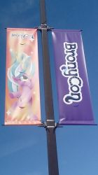 BronyCon 2018 - Mane Event banner by moshifan62