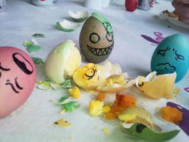 Egg Terror by Bueshang