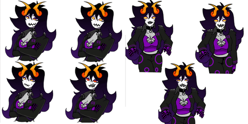 Dominique sprites by Pail-Buddy