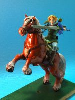 Link and Epona by Caro-Anita