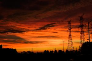 After the Storm Sunset by Cydel