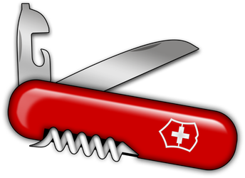 Swiss Army Knife by barkerbaggies