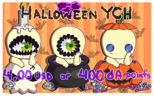 Halloween YCH - Open by Pixie-1887