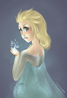 Queen Elsa by Fundippopotamus