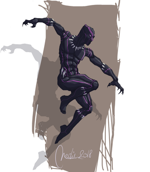 Black panther 6 by Neodin
