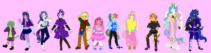 Mlp Human Designs by FallenAngel5414