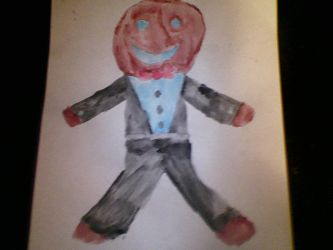 Classic Gingerbreadman by deathonice123