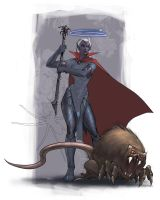 Drow Inquisitor by francis001