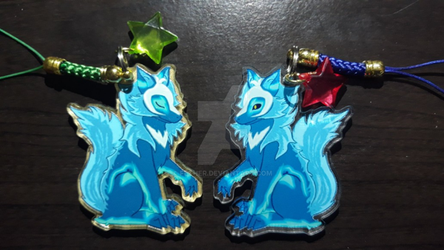 Voltron - Space Wolves Charm by fether