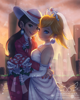 Peach And Pauline (6 14 2017) by theskywaker