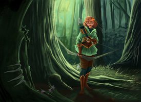 The Hunt by Katherine-Olenic