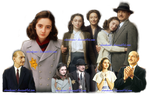 Anne Frank  5431  Png by Shinikami1
