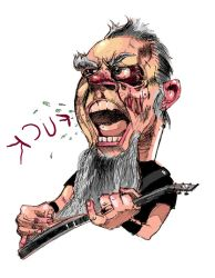 James 'ghoul' Hetfield by Schorer